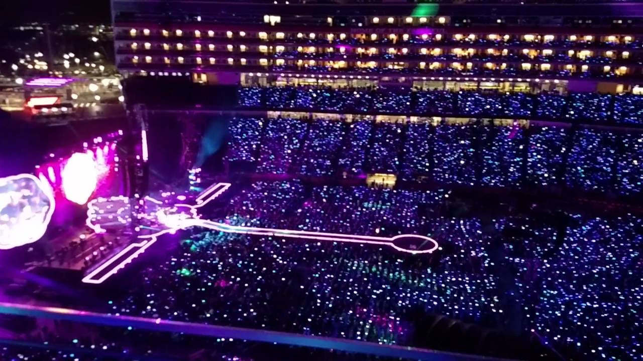 Coldplay Tour Agust
