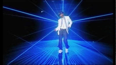Usher 'Yeah' lasers by TLC Creative