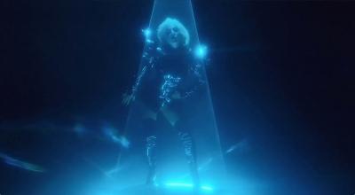 Lady Gaga in promo spot
