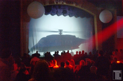 TLC Video Reveal Helicopter Silhouette Effect