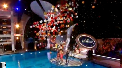 Balloon drop for ABC show Splash