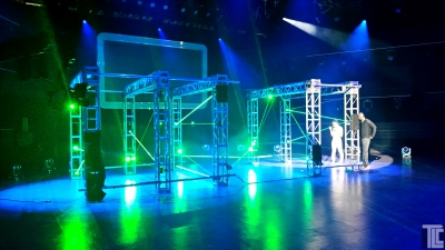 Laser maze interactive lasers by TLC