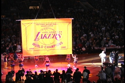LA Lakers Banner Reveal Opener