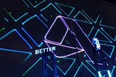Lasermapping at The Linq Las Vegas lasers TLC Creative