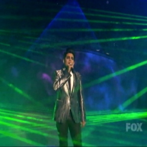 Adam Lambert on American Idol
