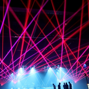 Lasers and laser FX light up special event