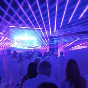 Birthday Laser Show