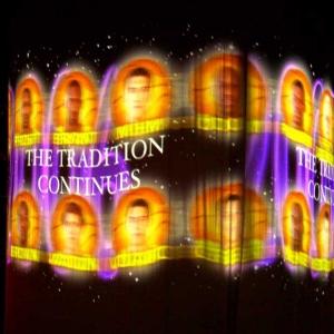 TLC designed screen reveal show
