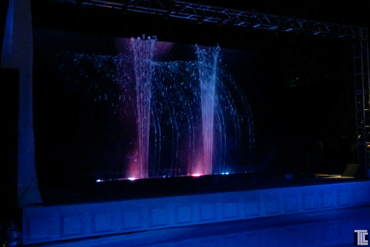 Custom Water Effects For Events Water Screens Water