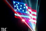 Laser flag TLC