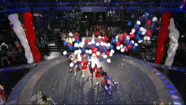 Balloon and Air effects by TLC Creative on Americas Got Talent