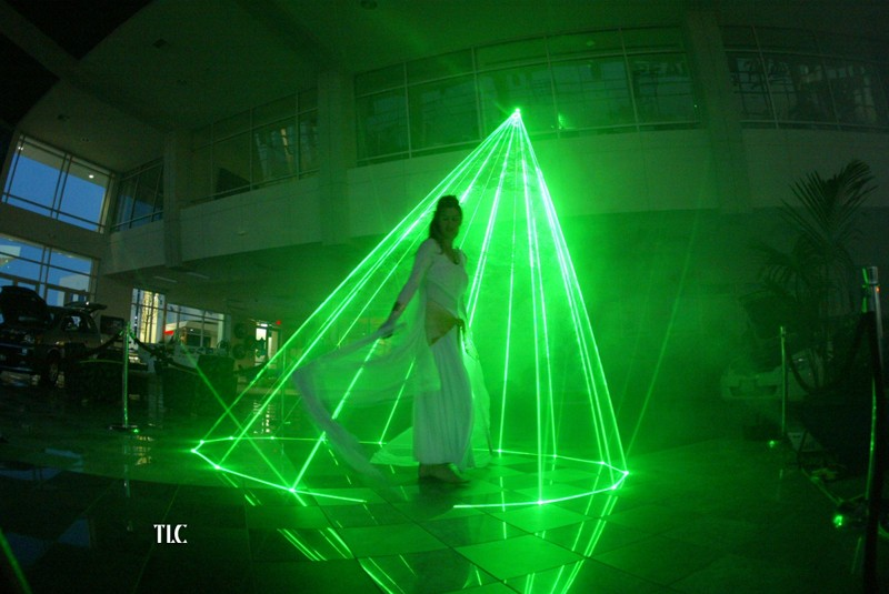 Laser cone performance