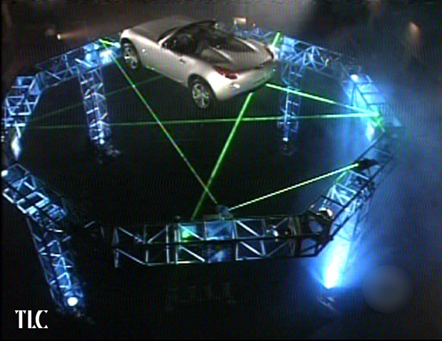 Laser beams by TLC for Big Brother