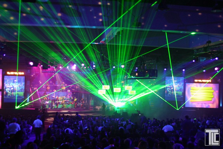 corporate laser show