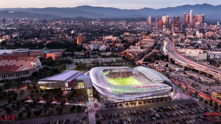 Los Angeles Soccer Stadium