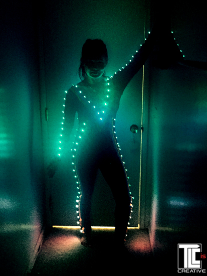 LED light suits TLC Creative
